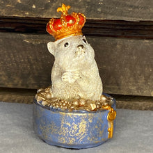 Load image into Gallery viewer, Christmas Hamster Resin Ornament