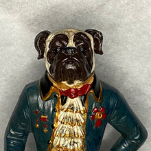 Load image into Gallery viewer, Gentleman Standing Pug Christmas Ornament