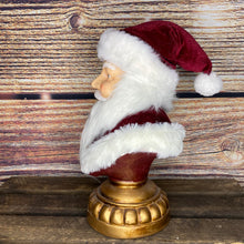 Load image into Gallery viewer, Katherine's Collection Christmas Wishes Santa Bust