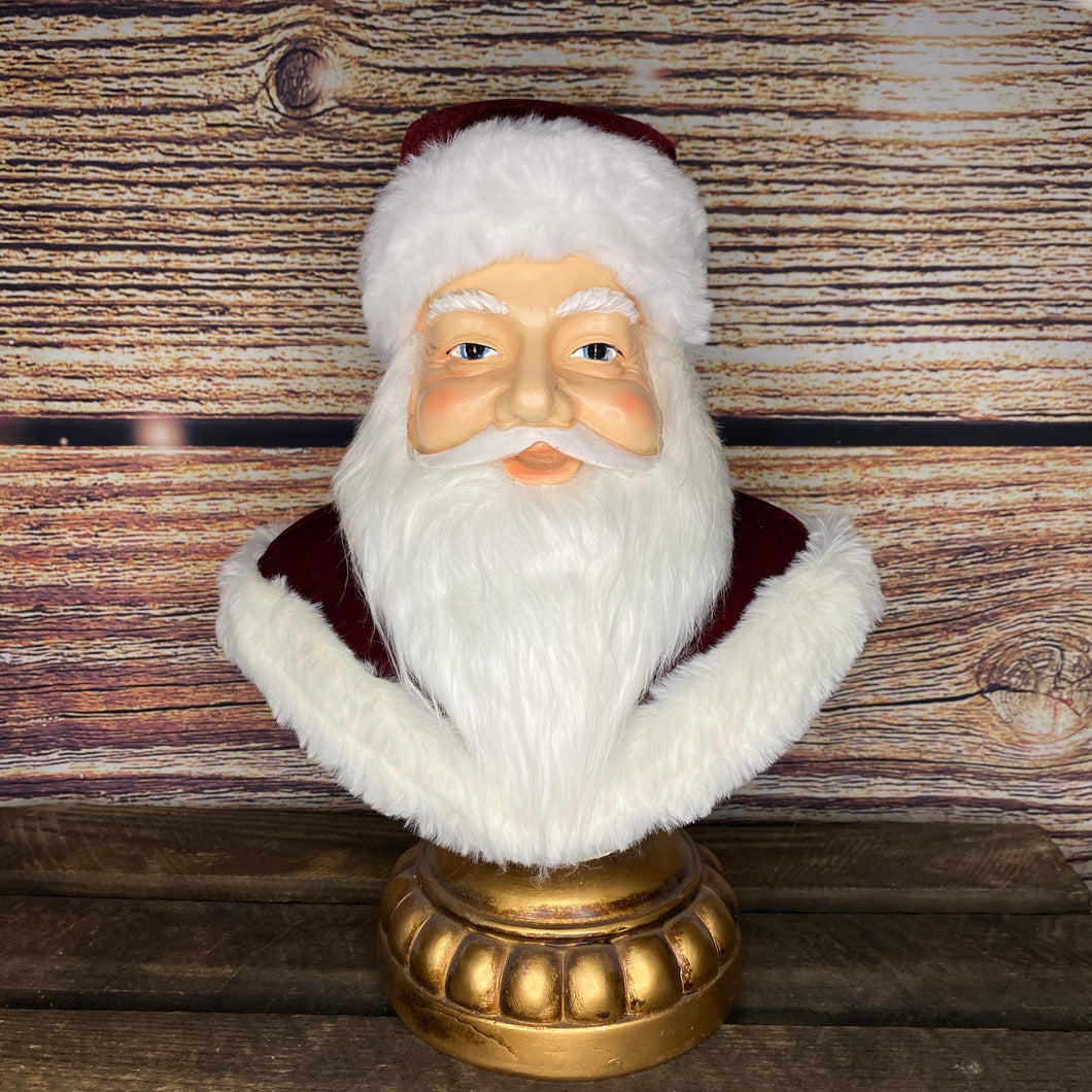 Katherine's Collection Christmas Wishes Santa Bust