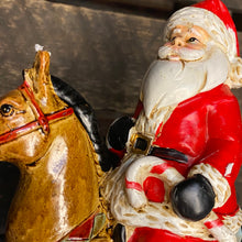 Load image into Gallery viewer, Santa on Rocking Horse Ornament