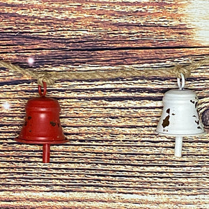 Metal Bells Jute Rope Garland