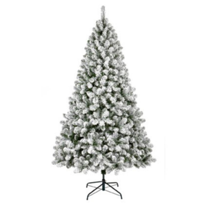 Woodcote Spruce Flocked 6ft/180cm Christmas Tree