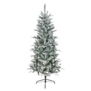 Lapland Flocked Slim 1.8m Christmas Tree