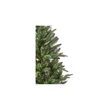 Load image into Gallery viewer, Aspen Fir Slim 2.1m Hinged Christmas Tree with Metal Stand