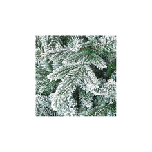 Load image into Gallery viewer, Lapland Flocked Slim 2.1m/7ft Christmas Tree