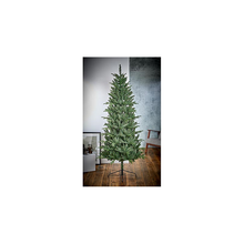 Load image into Gallery viewer, Aspen Fir Slim 1.8m Hinged Christmas Tree with Metal Stand