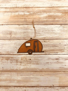 Universal Ironworks Inc - Teardrop Camper Trailer Ornament