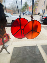 Load image into Gallery viewer, Stained glass Art by What The Flux Glass Studio