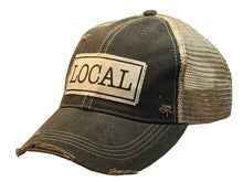 Load image into Gallery viewer, Local Distressed Trucker Cap