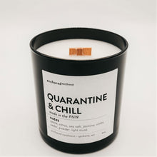 Load image into Gallery viewer, Quarantine & Chill - Black Tumbler w/ cover