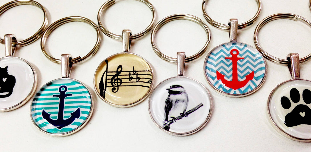 Keychain - Starter Collection - 12 assorted designs