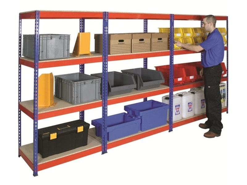 Industrial Shelving vs. Pallet Racking