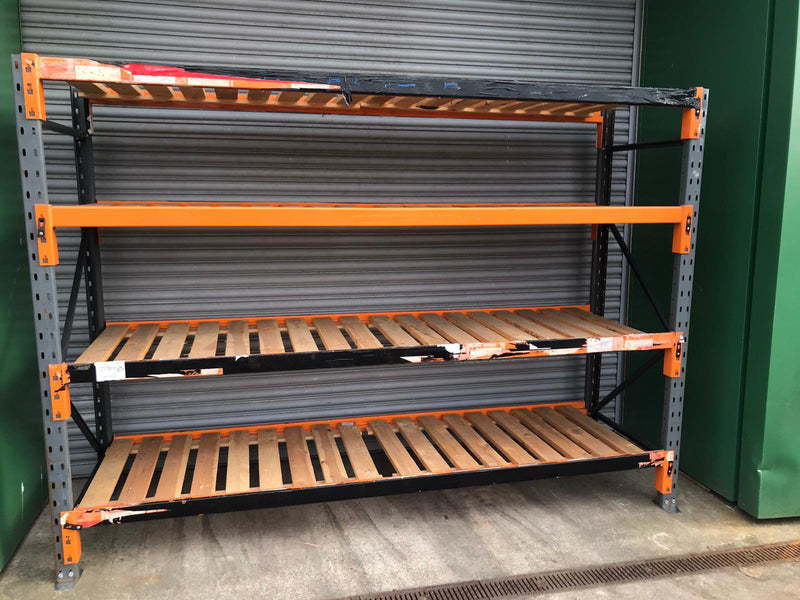 Used Dexion Speedlock - Timber Decks - 2000mm x 2730mm x 850mm