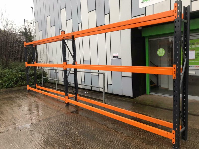 Used Tyre Bay - Dexion Speedlock Used Tyre Bay Racking - 2 Joined Bays - H2300mm x L7000mm x D450mm -  - The Cracking Racking Ltd