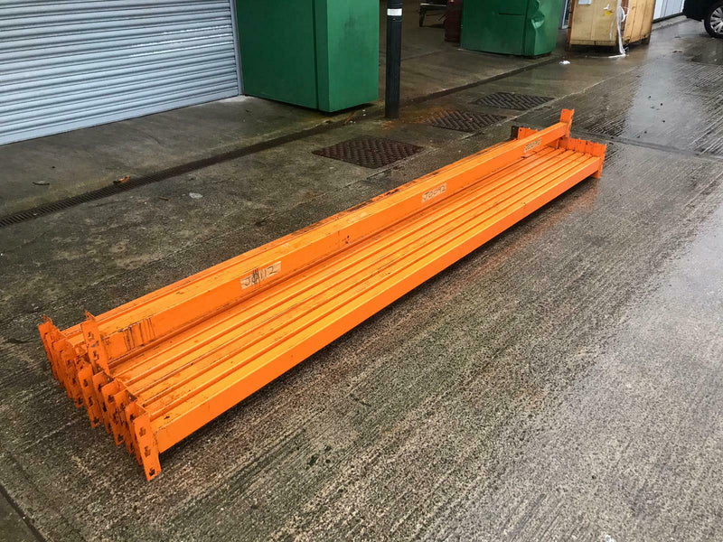 Used Tyre Bay - Dexion Speedlock Used Tyre Bay - 3 Joined Bays - H2300mm x L10500mm x D450mm -  - The Cracking Racking Ltd