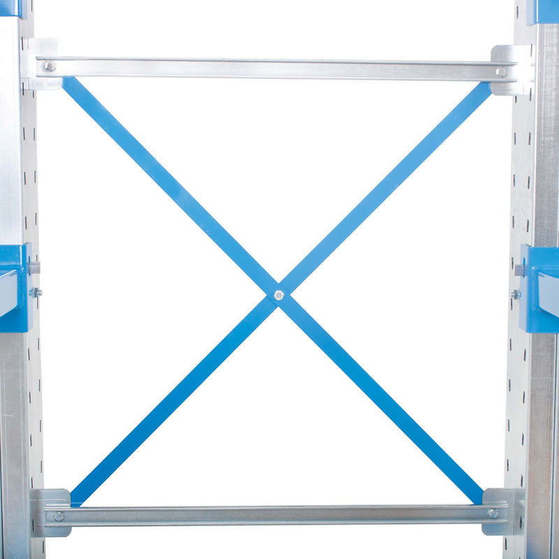 Cantilever Warehouse Racking - Single Sided - Extension Bay