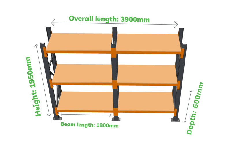 Champ Rack - Link 51 - 2 Joined Bays - Variant Image