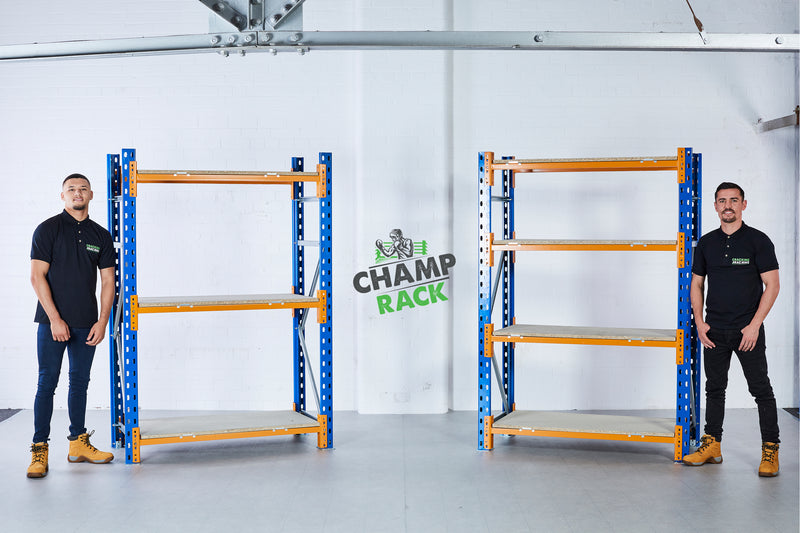 Champ Rack - Main Image with 2 Bays - 3 Levels & 4 Levels