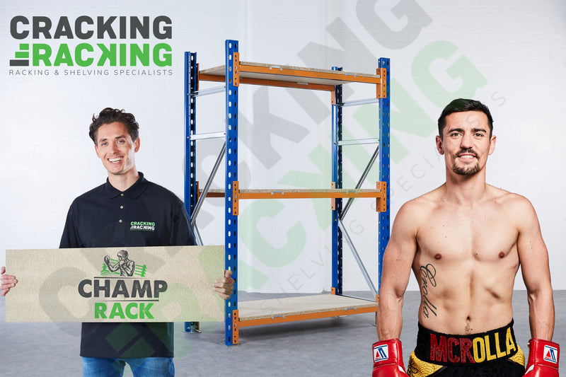 Champ Rack - Link 51 - 1-8 Bays - Main image showing Anthony Crolla