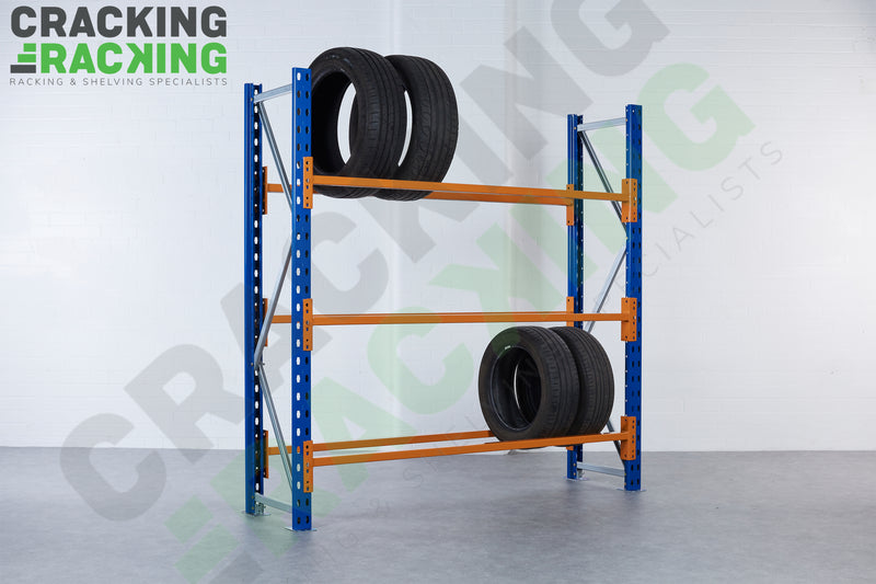 Link 51 - Tyre Bay Racking - 1950h x 1200w x 450d - 3 levels