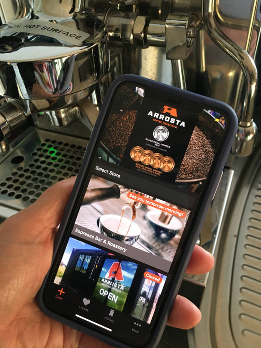 Arrosta Coffee Mobile Ordering App