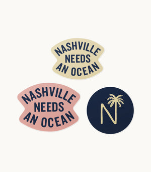 Nashville Sticker Pack