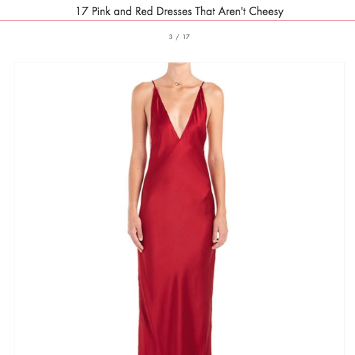 The Nyissa Dress in Who What Wear's Red Dresses That Aren't Cheesy