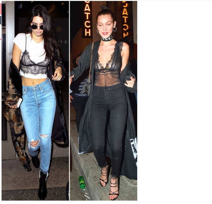 The Rylie Tee on Kendall Jenner in Us Weekly's Who Wore It Best