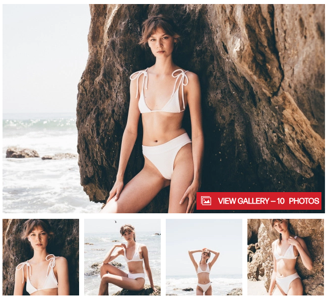 Swimwear Feature in Women's Wear Daily