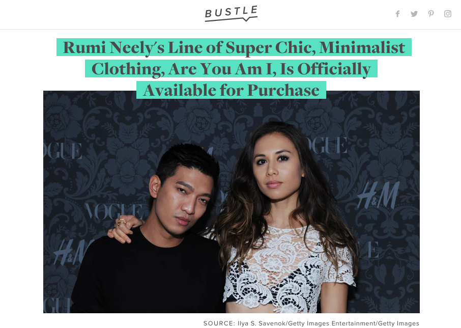 A Look Into the Brand Launch for Bustle