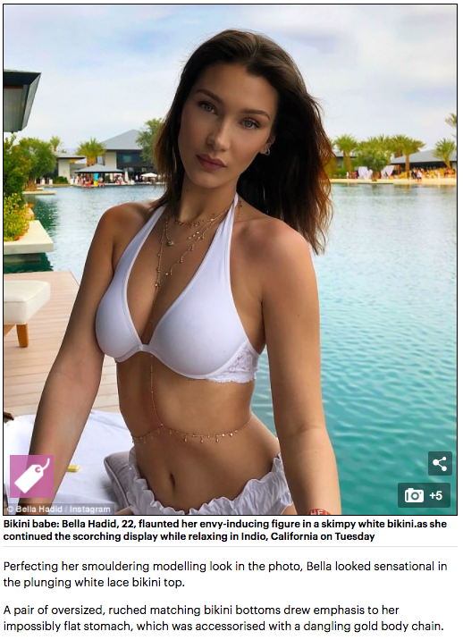 Bella Hadid - Tuille Swim Bottom - Are You Am I