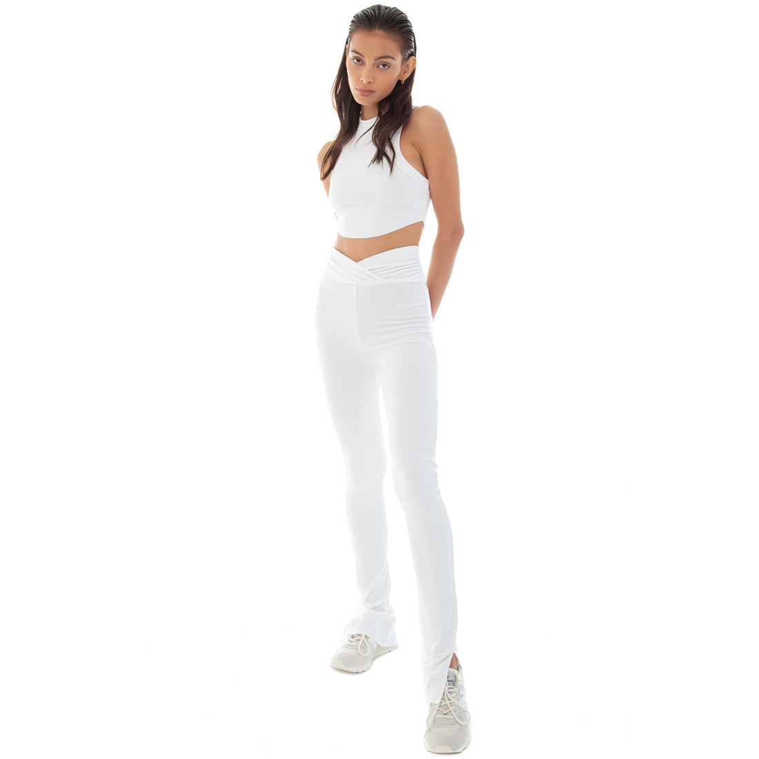 Are You Am I - Amiel Legging **white