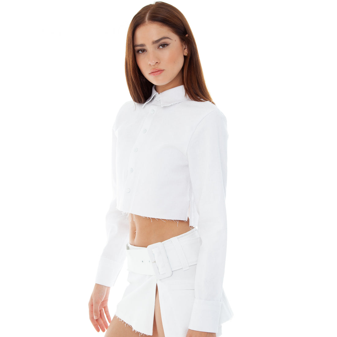 Are You Am I - Ketki Jacket **white
