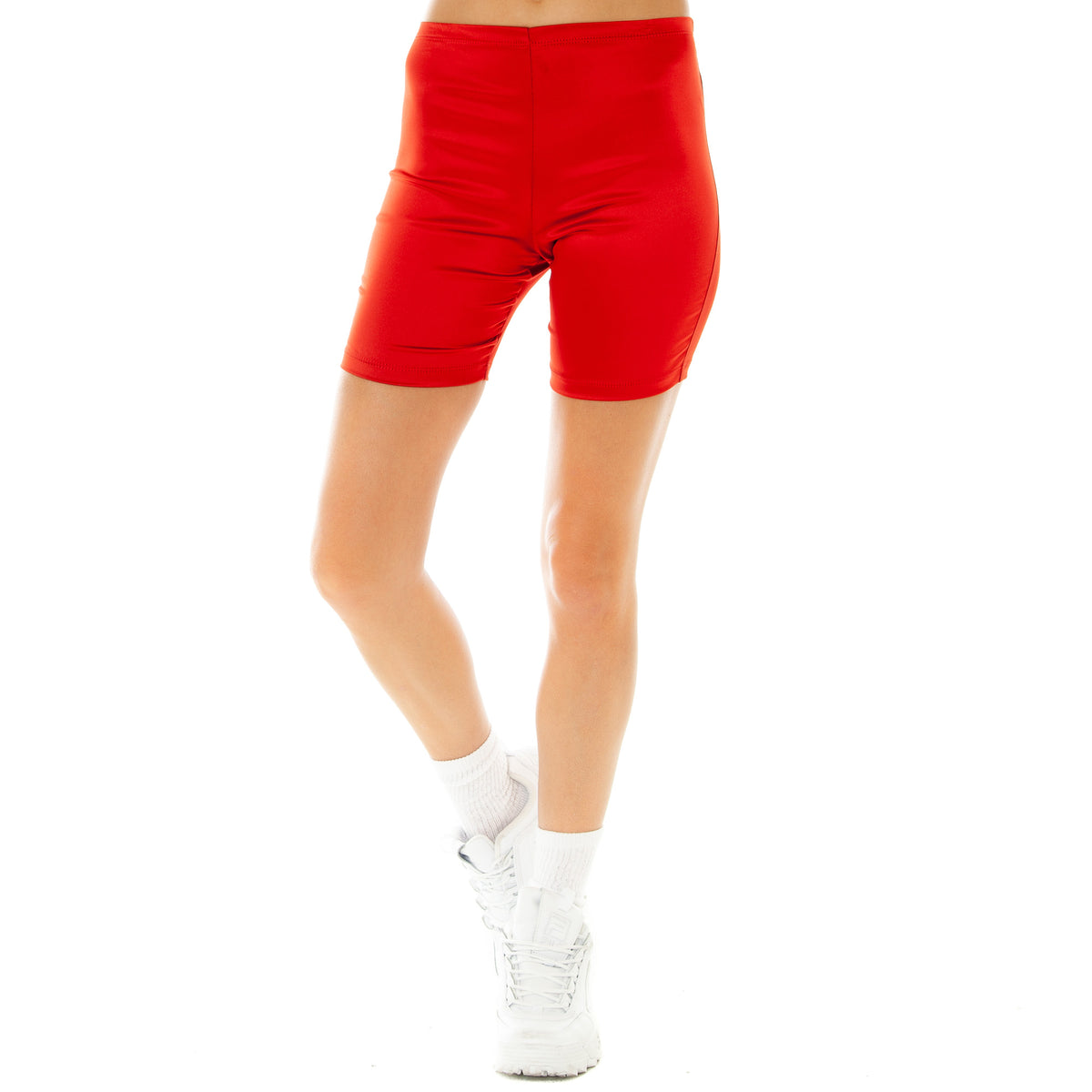Are You Am I - Blaze Biker Short **red