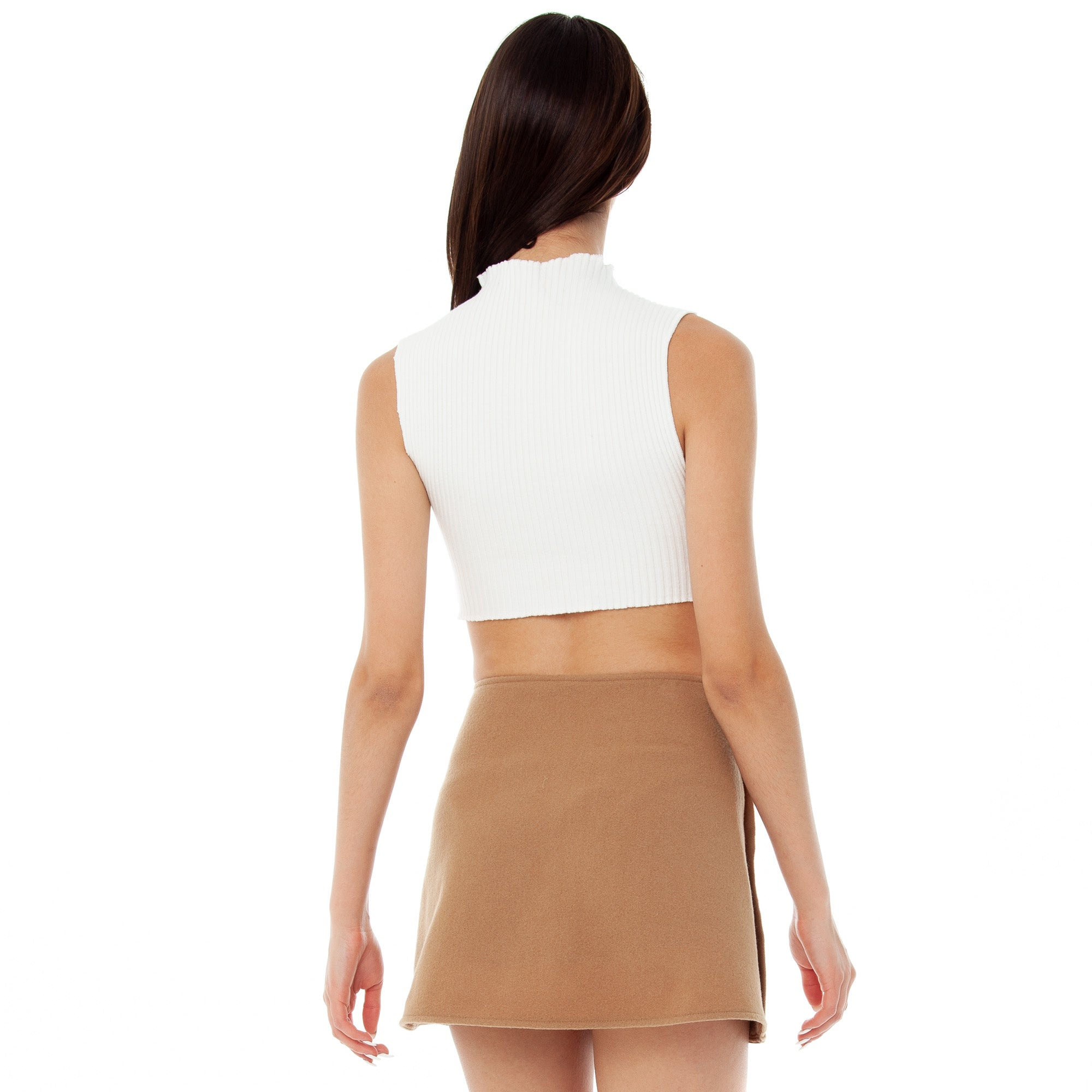 Are You Am I - Emina Skirt **camel