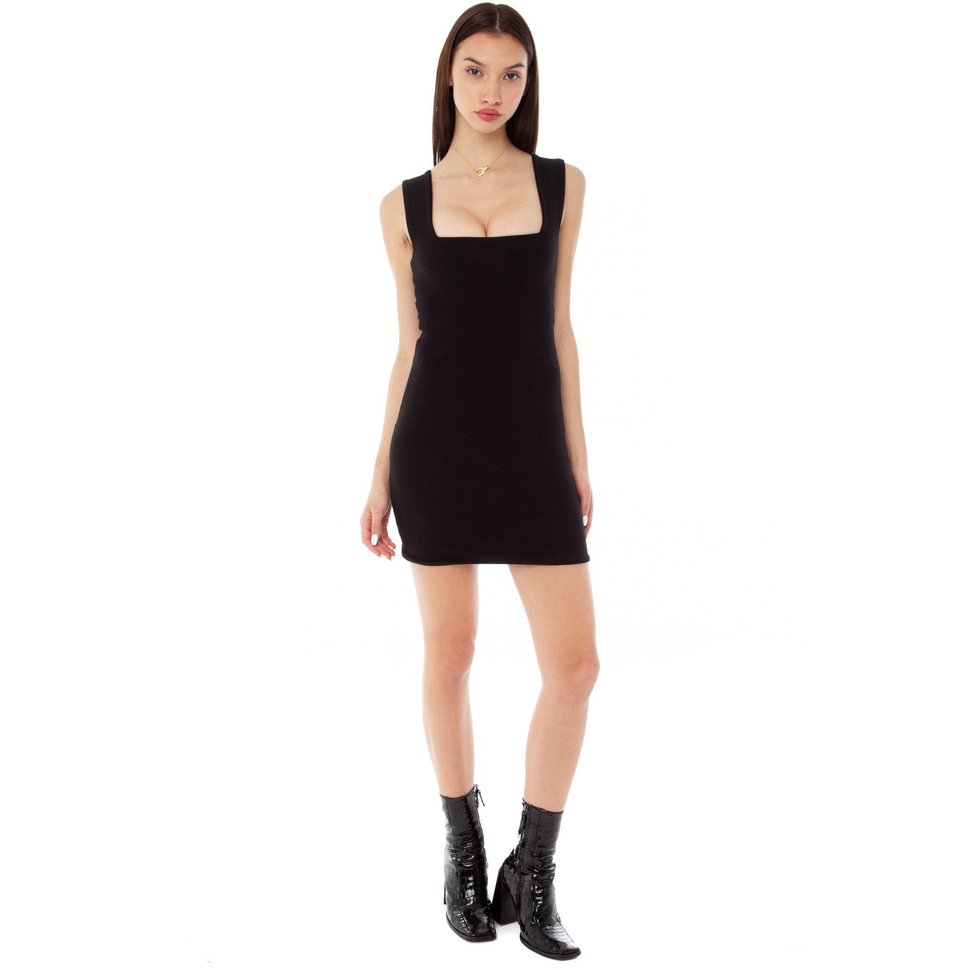 Are You Am I - Kimba Dress **black
