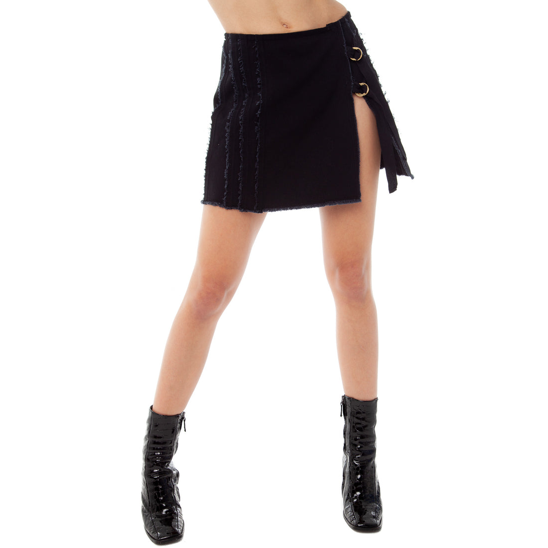 Are You Am I - Kolten Skirt **black
