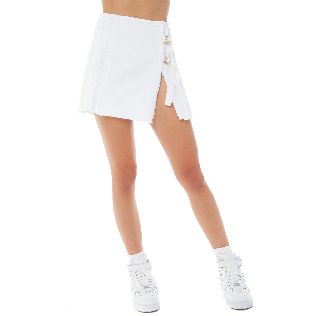 Are You Am I - Kolten Skirt **white