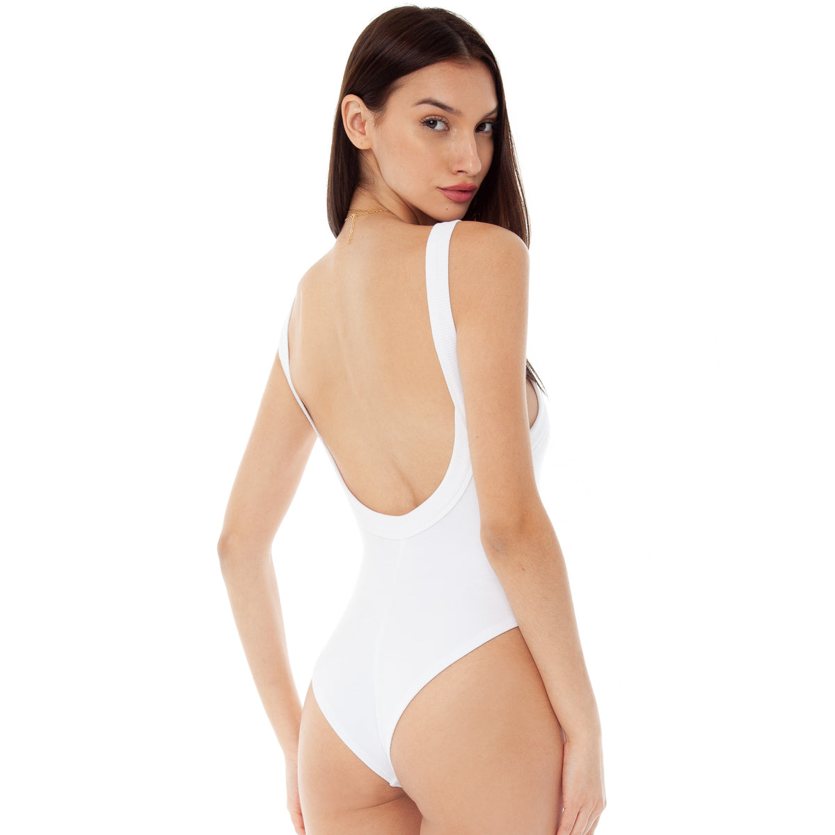 Are You Am I - Resi Bodysuit **white