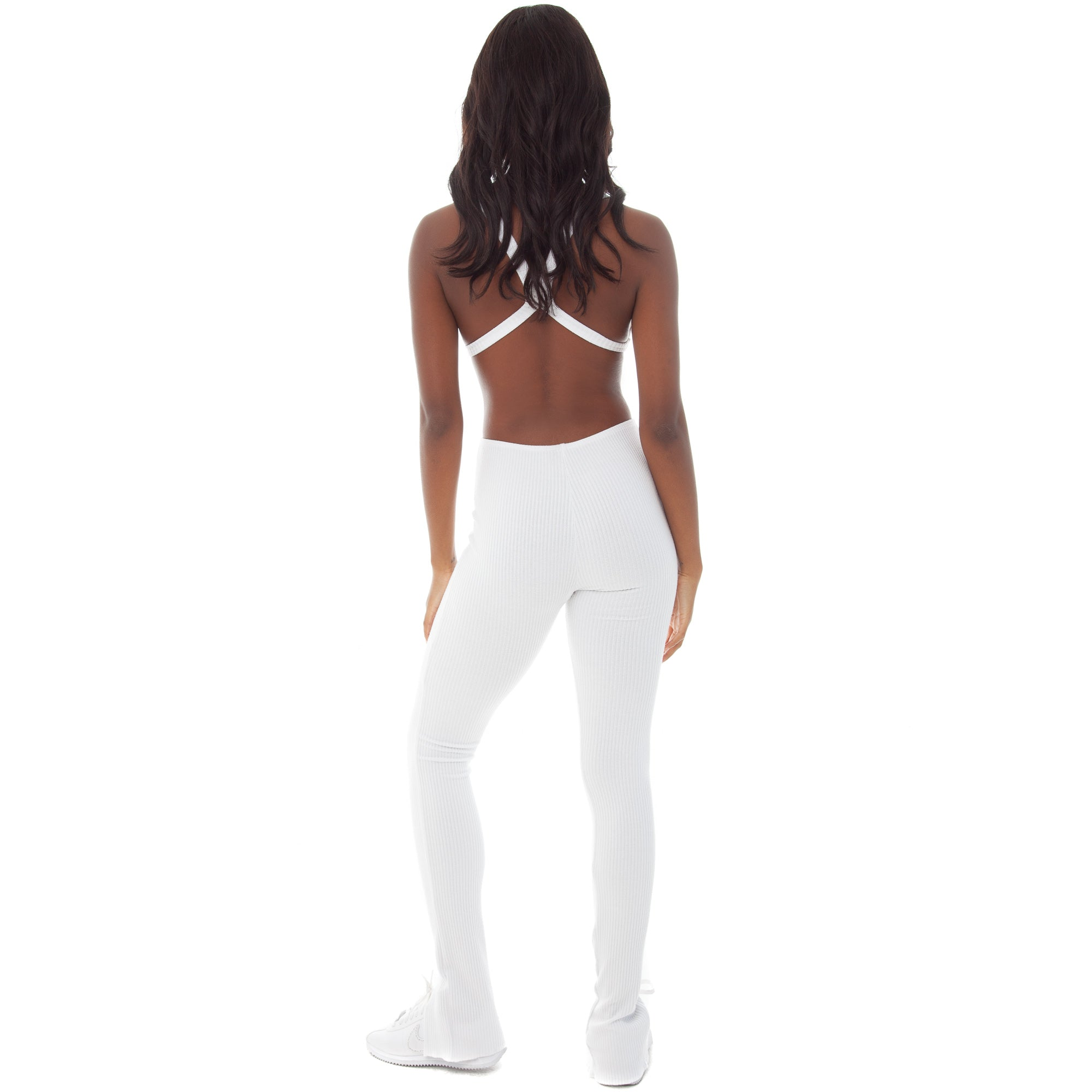 Are You Am I - Keena Legging **white