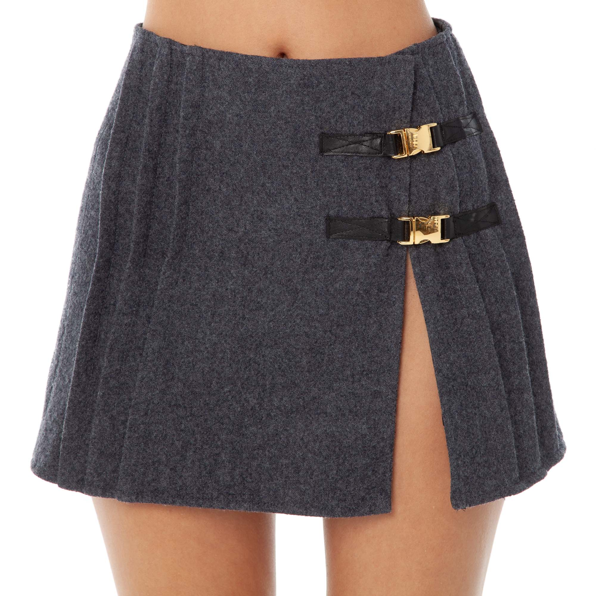 Are You Am I - Emina Skirt **charcoal