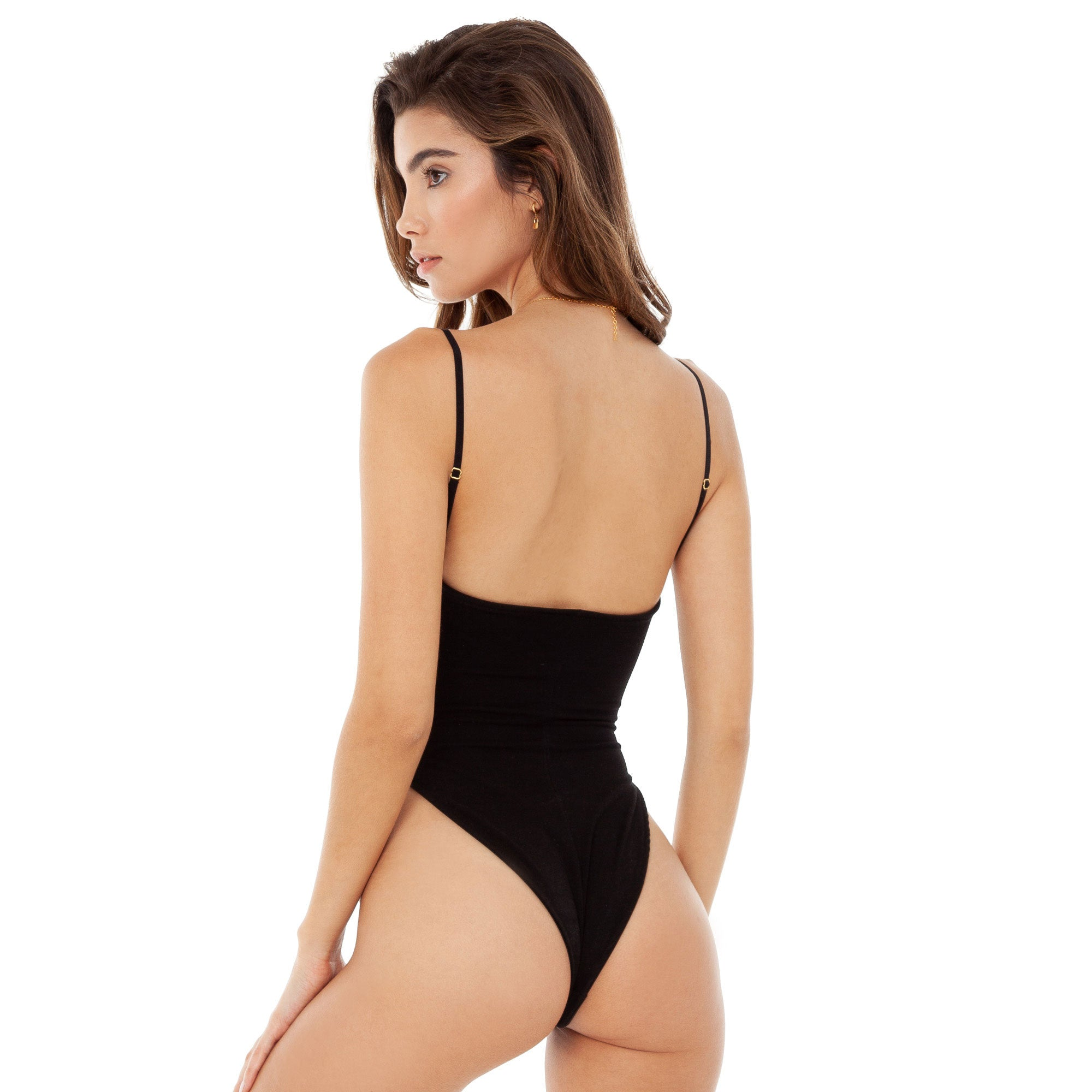 Are You Am I - Kaat Bodysuit **black