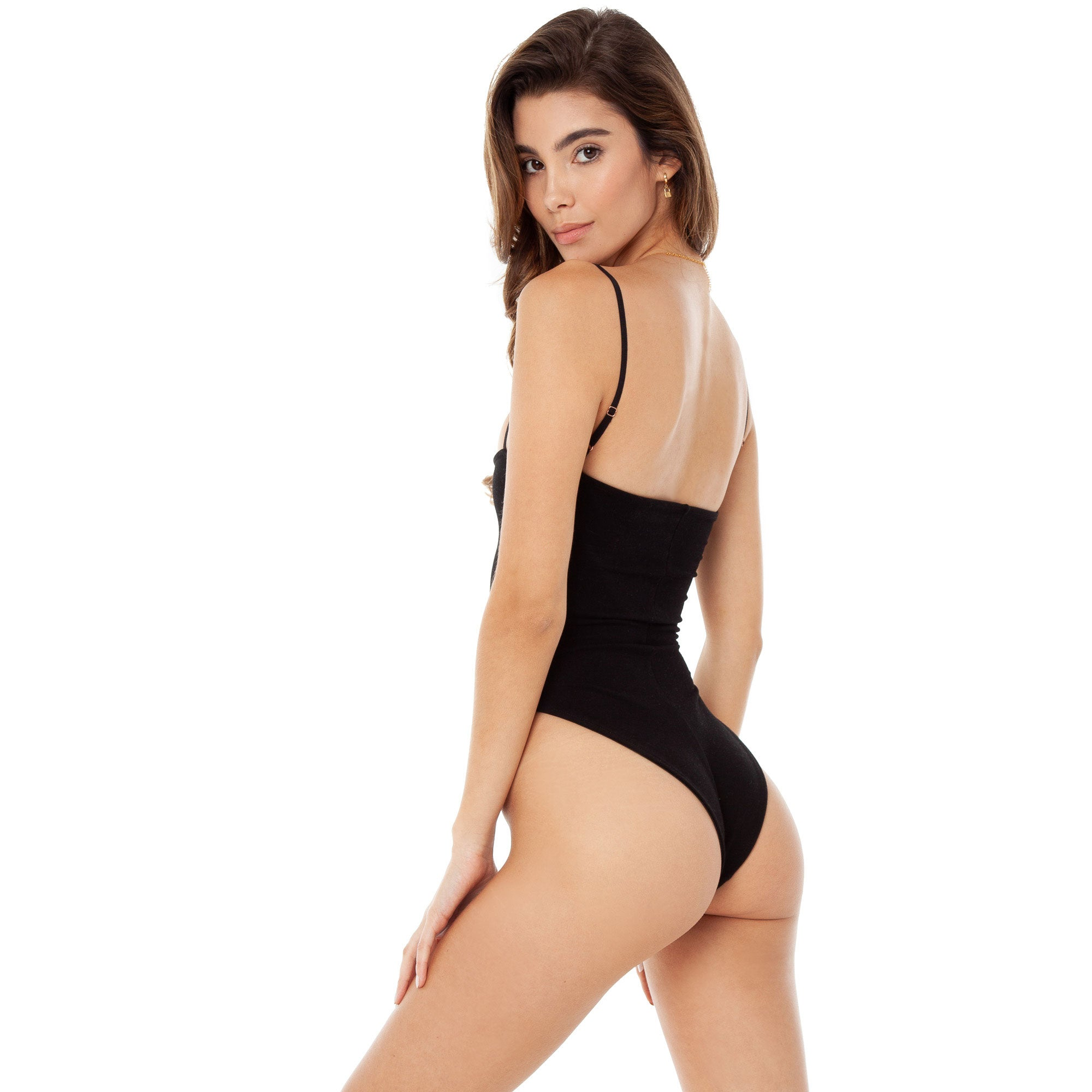 4f63ccb85de Are You Am I - Kimia Bodysuit **black