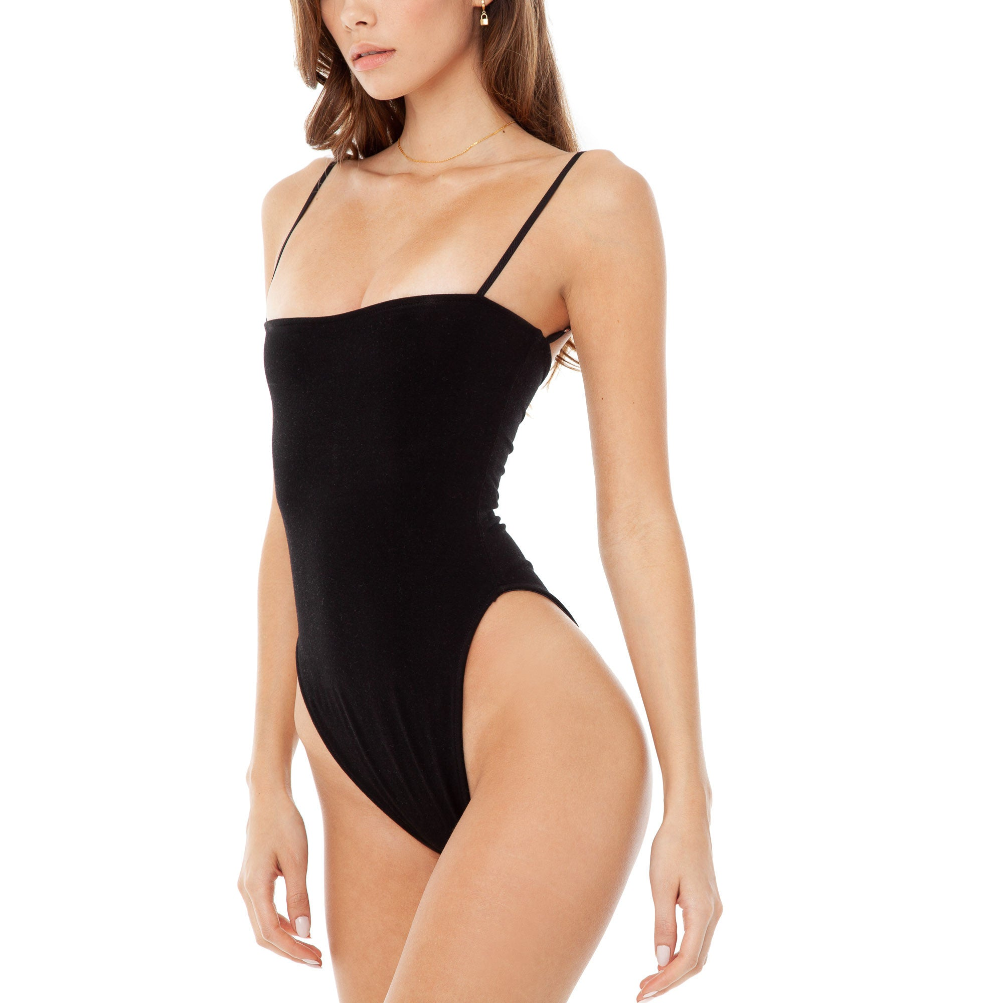 Are You Am I - Kimia Bodysuit **black