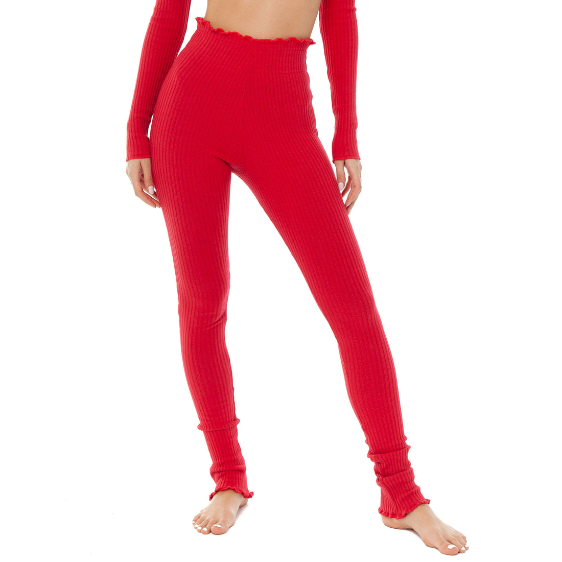 Are You Am I - Tiiu Legging **red