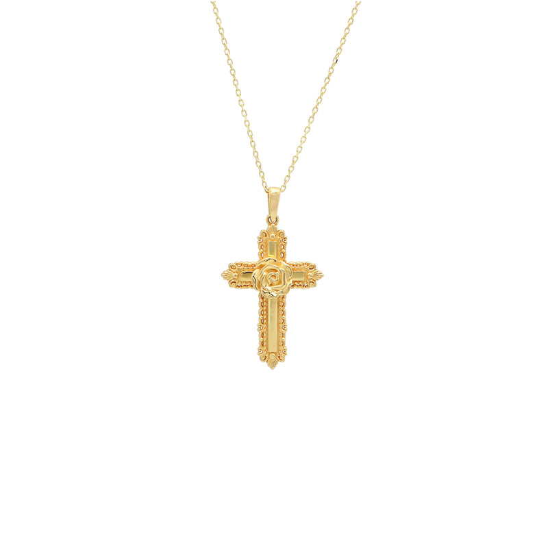 Are You Am I - Faurax Cross Necklace
