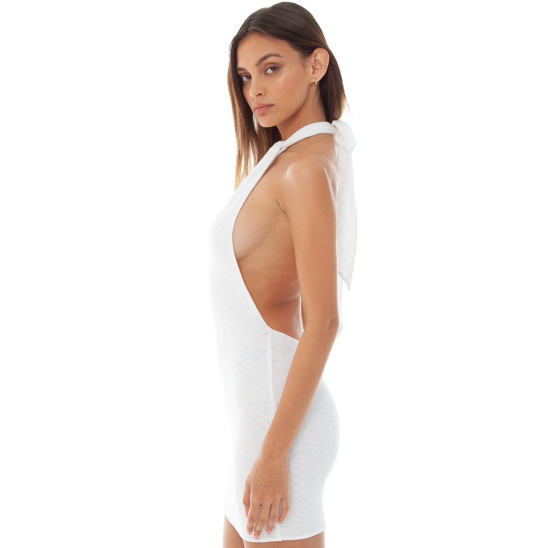 Are You Am I - Dael Dress **white