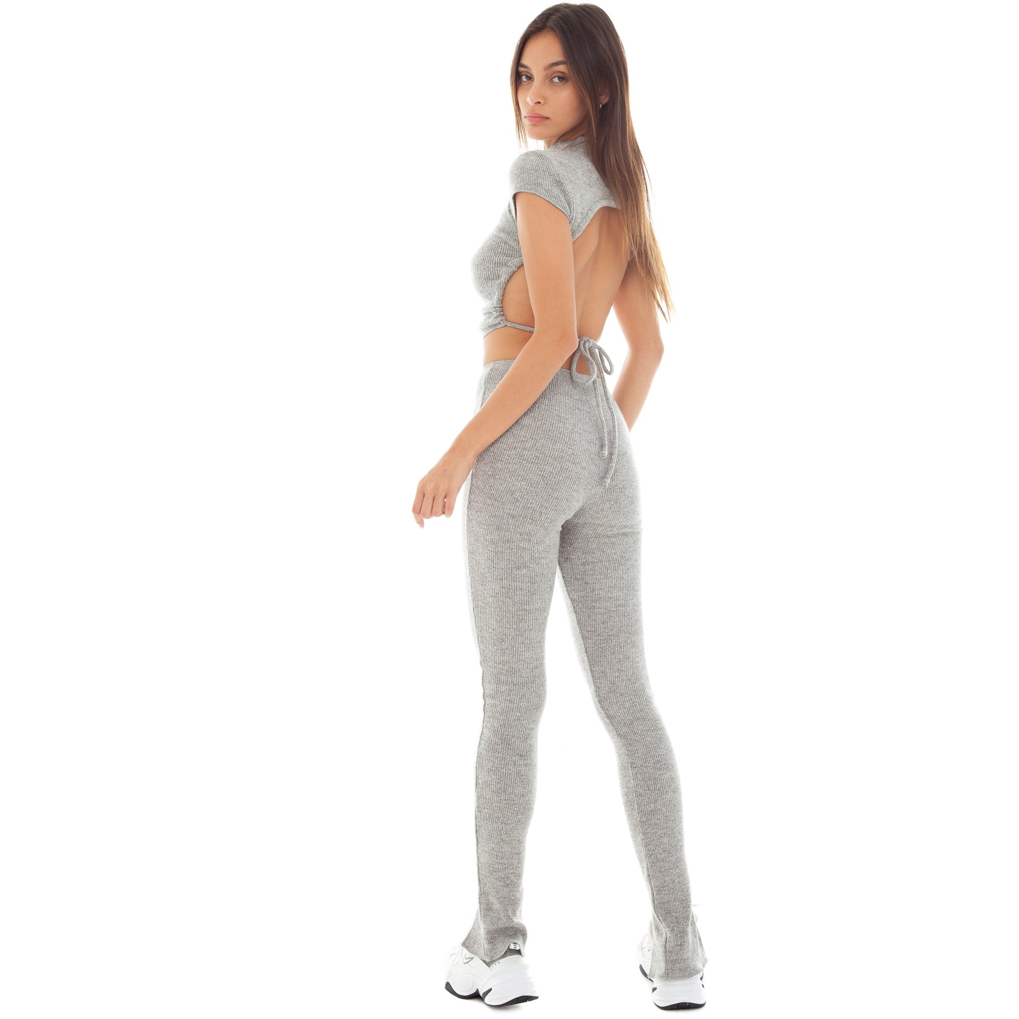 Are You Am I - Sarei Legging **heather-grey