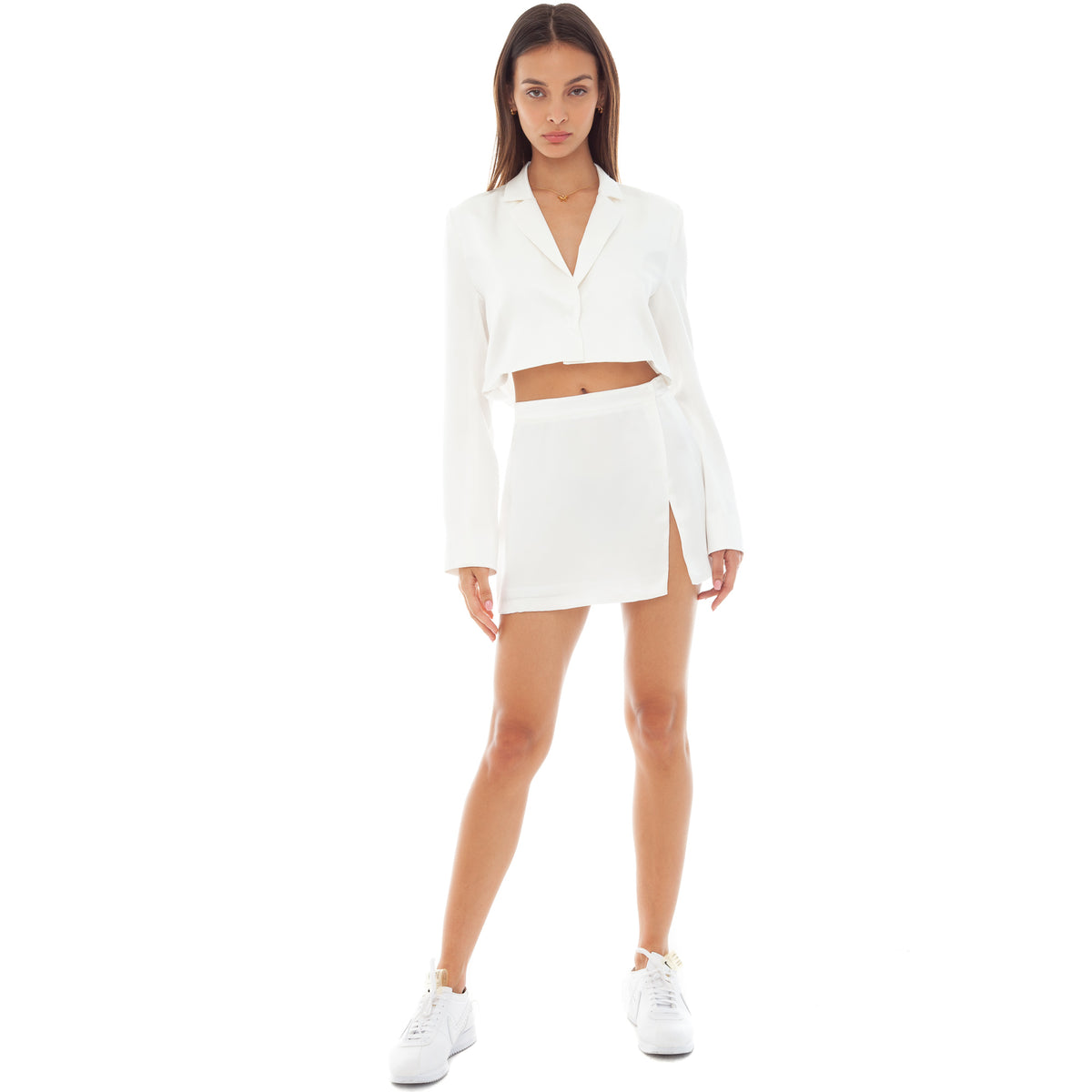 Are You Am I - Natane Blazer **white